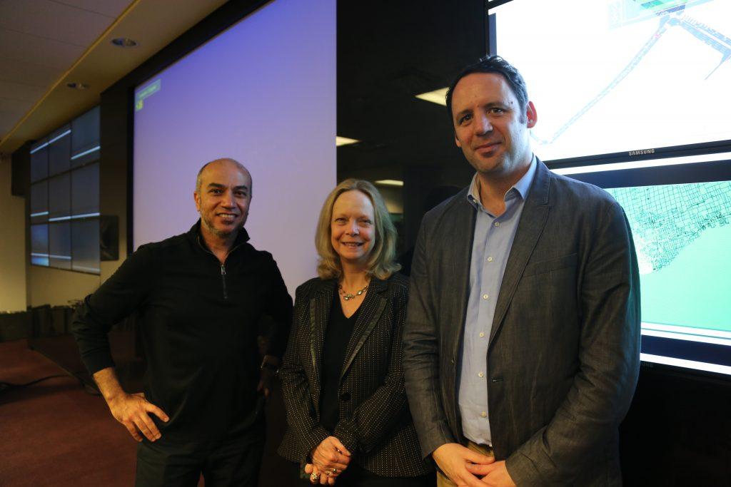 Baher Abdulhai, Judy Farvolden, and Josh Fullan