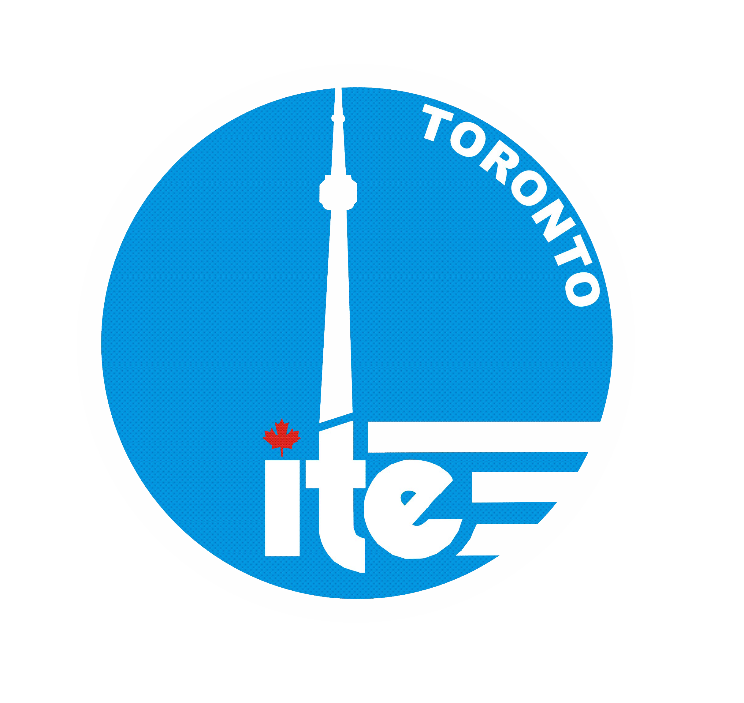 ITE logo CN Tower and maple leaf