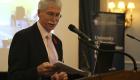 Eric Miller at podium