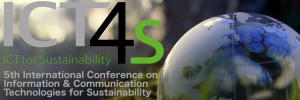 ICT4S Fifth International Conference on Information & Communication Technologies for Sustainability