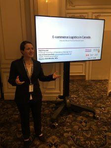 Glareh Amirjamshidi presenting paper at CTRF