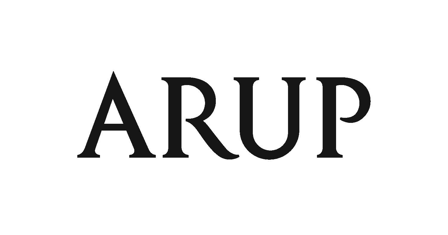 Arup logo all-caps text ARUP