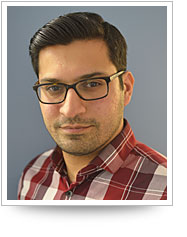 Head shot of Yousaf Shah