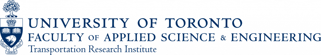 crest and wordmark of the University of Toronto Transportation Research Institute