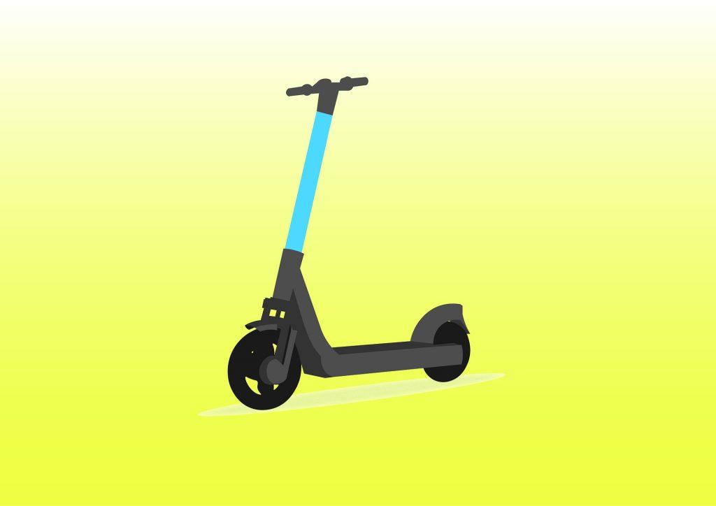e-scooter illustration