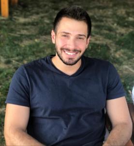 Jad Zalzal seated outdoors